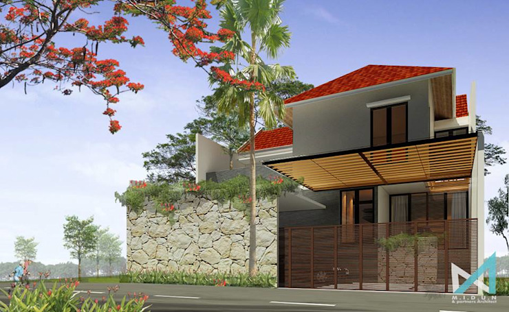 RK HOUSE Rumah Tropis Oleh midun and partners architect Tropis
