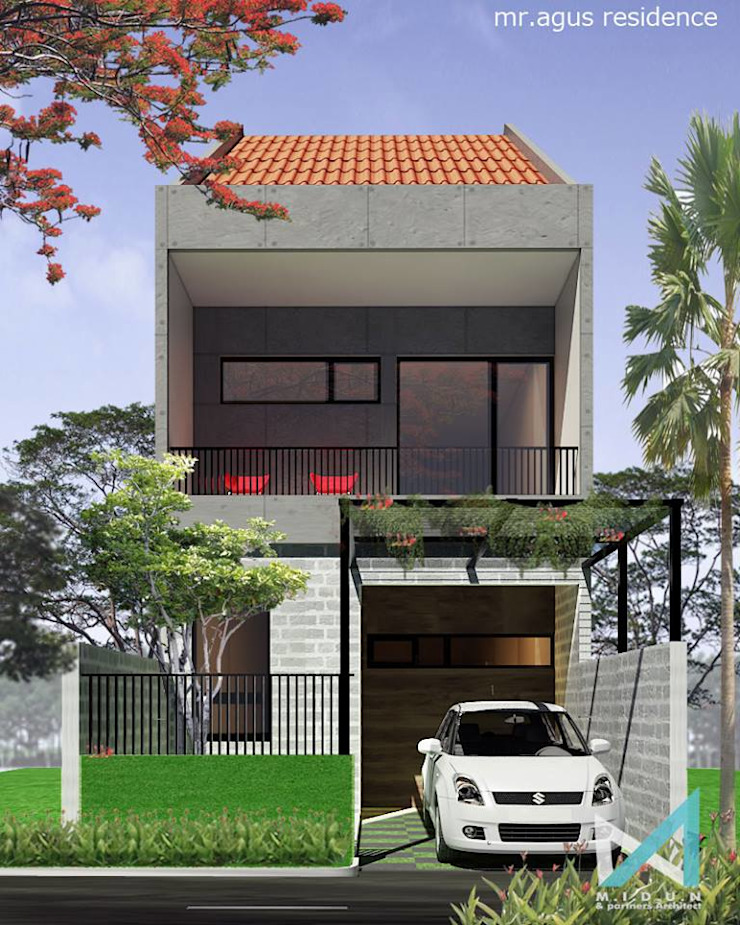 ED HOUSE Rumah Tropis Oleh midun and partners architect Tropis