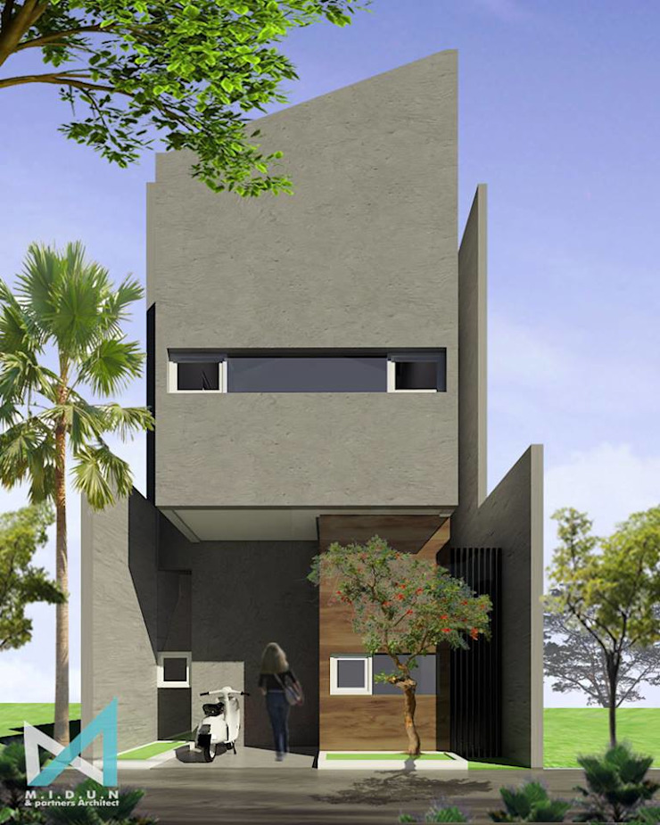 SB HOUSE Rumah Tropis Oleh midun and partners architect Tropis
