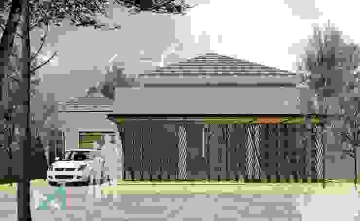 AS 14 Rumah Gaya Industrial Oleh midun and partners architect Industrial