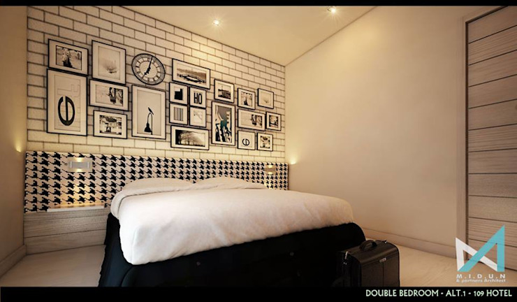101 HOTEL:modern  oleh midun and partners architect, Modern
