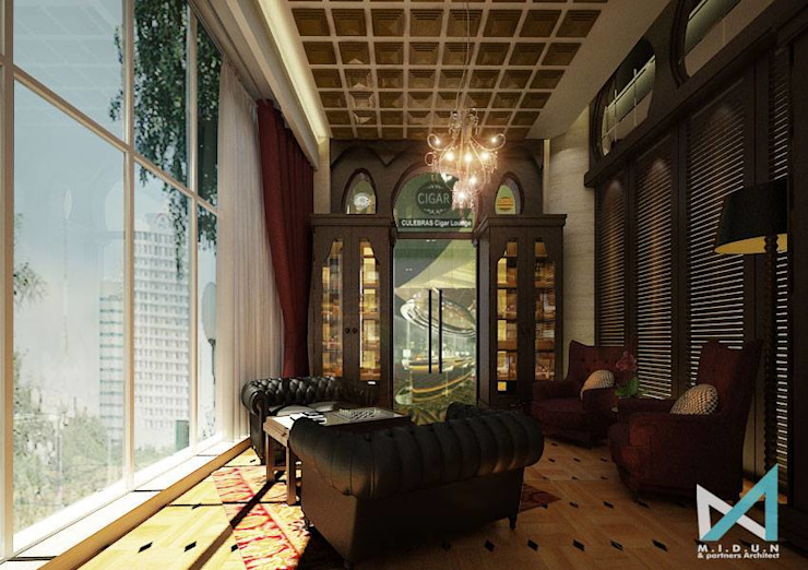 COULEBRAS LOUNGE Oleh midun and partners architect Kolonial