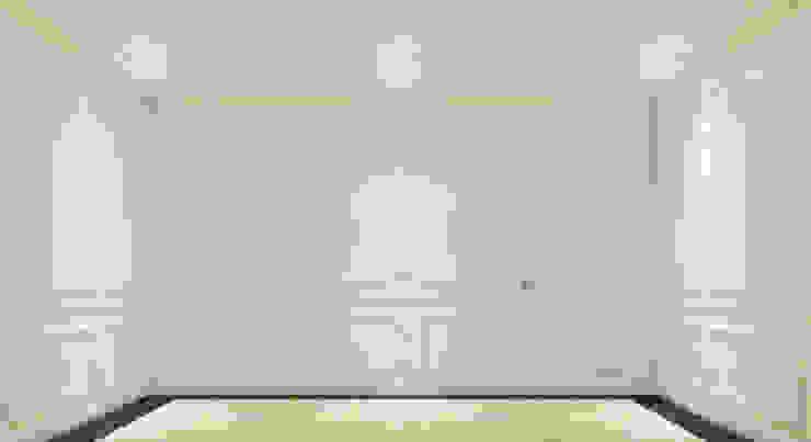 Dinding 3 Kantor & Toko Modern Oleh PT. Leeyaqat Karya Pratama Modern