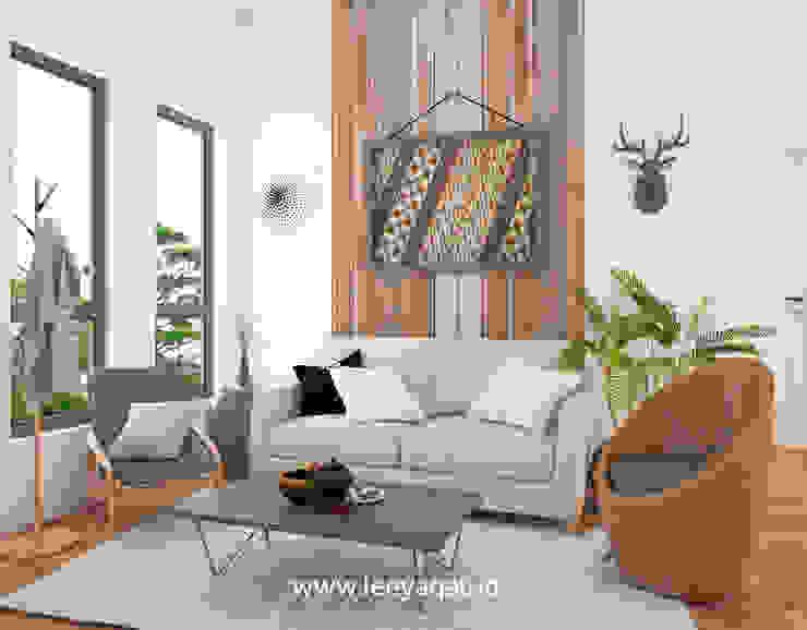 Livings de estilo rústico de PT. Leeyaqat Karya Pratama Rústico