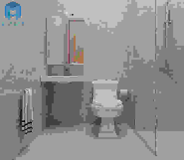 toilet Nhà bếp phong cách hiện đại bởi Công ty TNHH Nội Thất Mạnh Hệ Hiện đại MDF