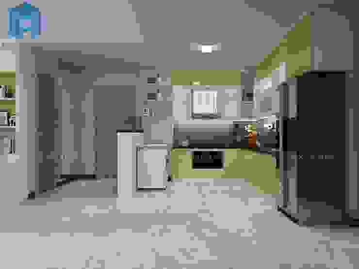 phòng bếp bởi Công ty TNHH Nội Thất Mạnh Hệ Hiện đại