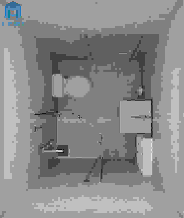 toilet hiện đại Phòng khách phong cách đồng quê bởi Công ty TNHH Nội Thất Mạnh Hệ Đồng quê OSB