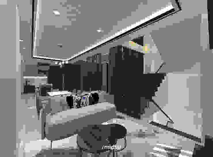 Living Ruang Keluarga Modern Oleh M I D S T Interiors Modern Marmer