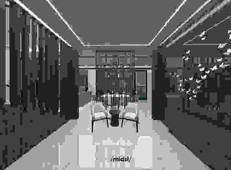 Foyer Ruang Keluarga Modern Oleh M I D S T Interiors Modern Marmer
