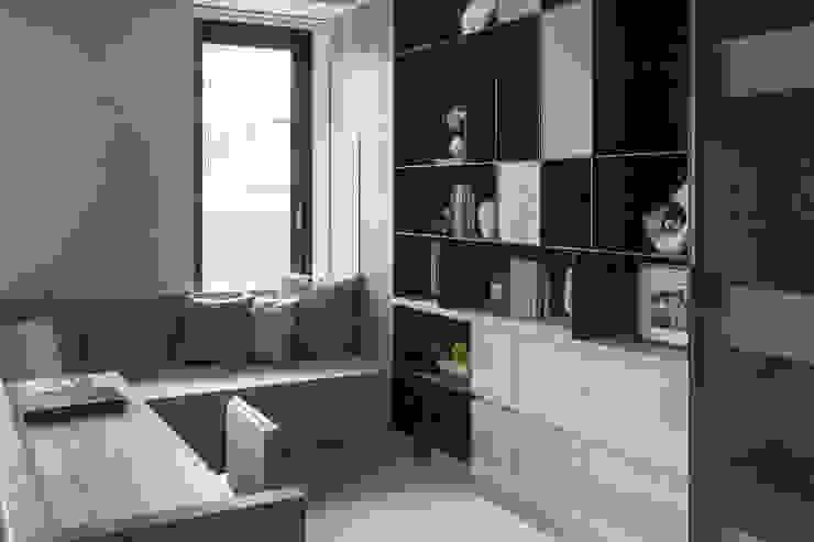 品味現代-久泰皇品 根據 富亞室內裝修設計工程有限公司 現代風 金屬