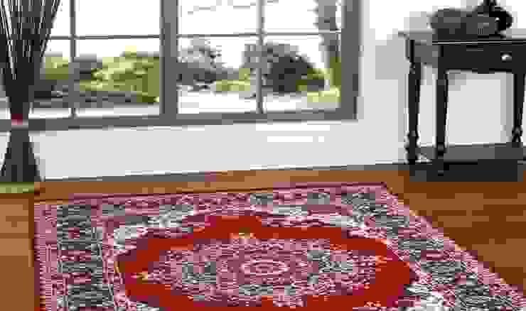 Tappeto PERSIAN-4480-RED di Webtappeti Classico Tessuti Ambra/Oro