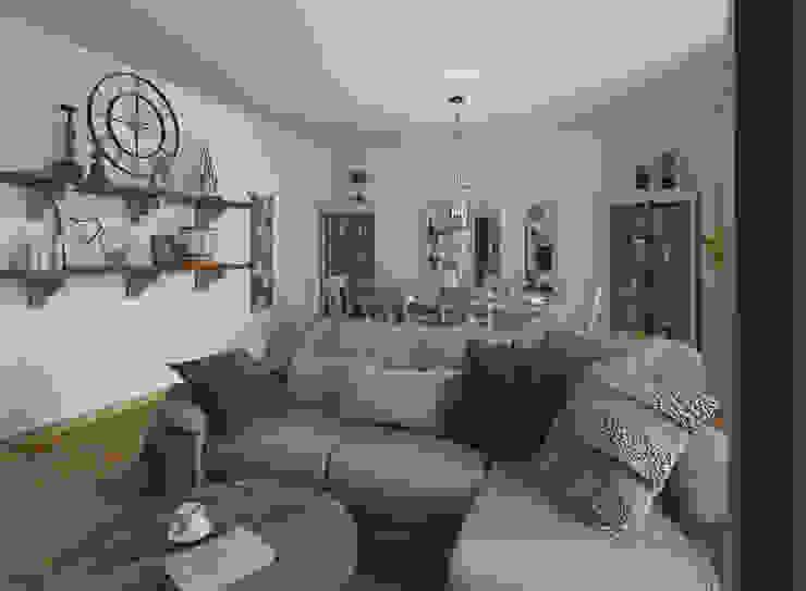 Living room by Glancing EYE - Asesoramiento y decoración en diseños 3D