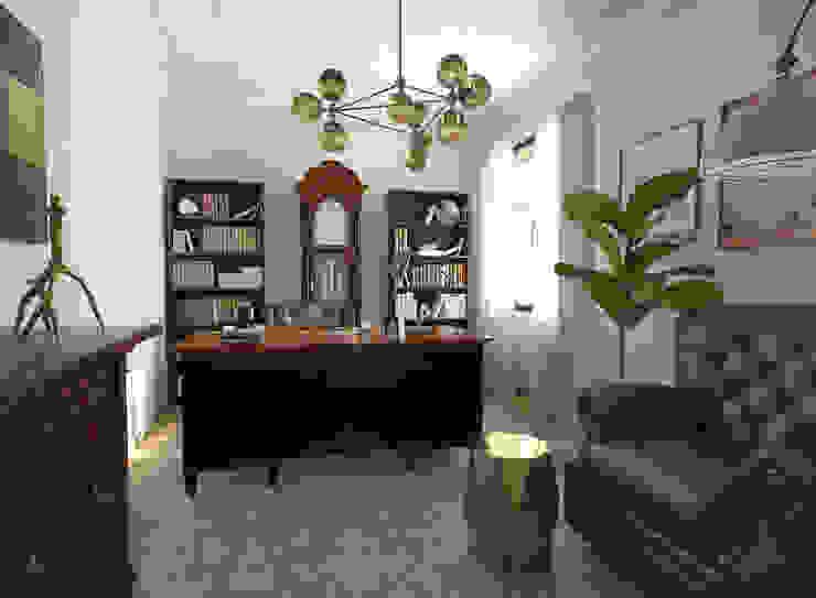 Study/office by Glancing EYE - Asesoramiento y decoración en diseños 3D