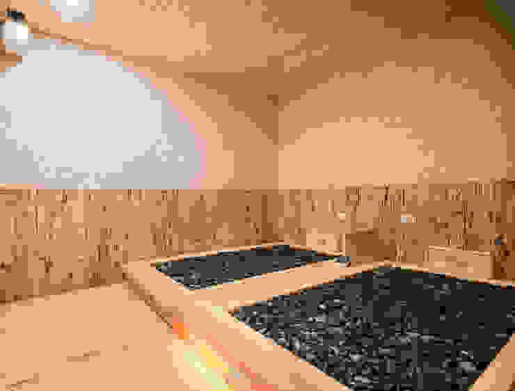 湯の花 -岩盤浴 根據 元作空間設計 日式風、東方風
