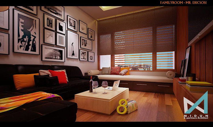 midun and partners architect Living room