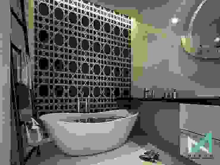 PLATINUM HOUSE Kamar Mandi Modern Oleh midun and partners architect Modern