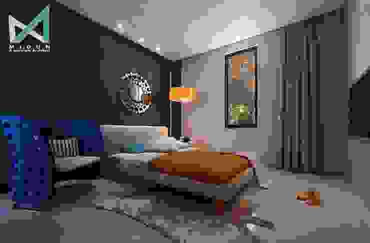 PLATINUM HOUSE Kamar Tidur Modern Oleh midun and partners architect Modern