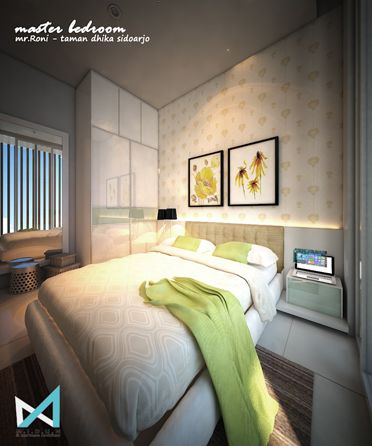 Modern Bedroom by midun and partners architect Modern