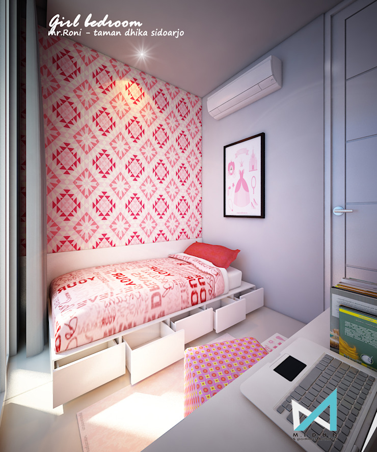 Modern Kid's Room by midun and partners architect Modern