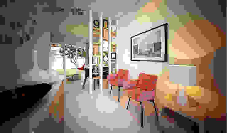 CH HOUSE Ruang Keluarga Modern Oleh midun and partners architect Modern