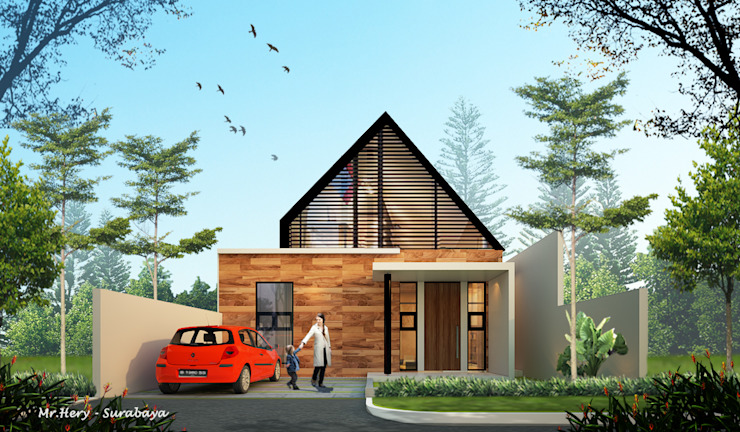 AFU HOUSE Rumah Tropis Oleh midun and partners architect Tropis