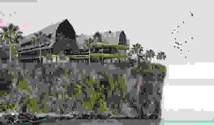 REHO MALOM WET TELU Hotel Tropis Oleh midun and partners architect Tropis