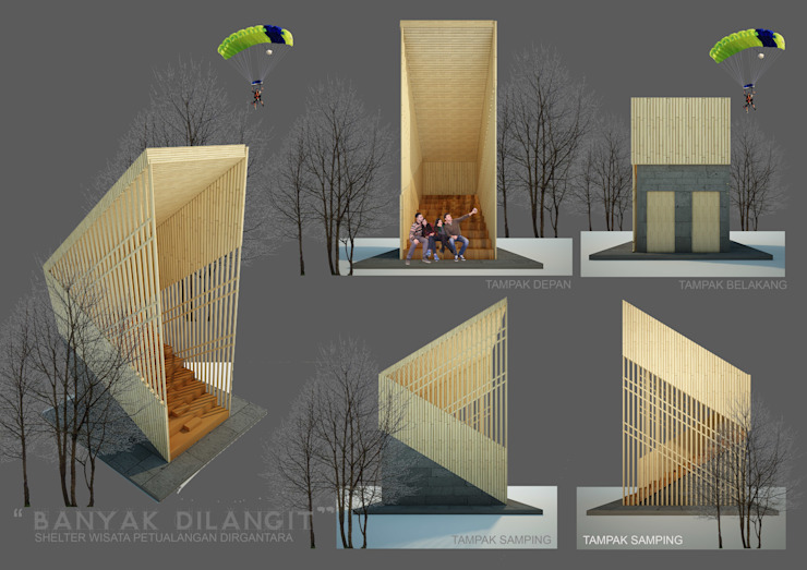 BL SHELTER Ruang Komersial Tropis Oleh midun and partners architect Tropis