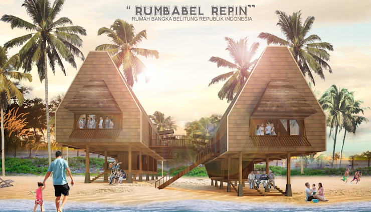 RUMBABEL REPIN HOMESTAY Hotel Gaya Asia Oleh midun and partners architect Asia