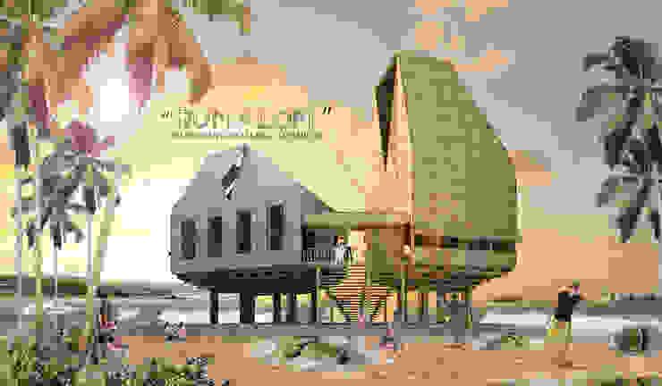 RUMALOM HOMESTAY Hotel Gaya Asia Oleh midun and partners architect Asia