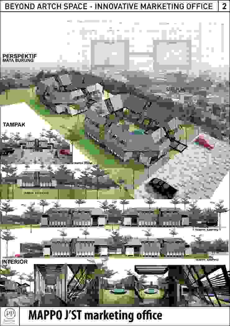 MAPPO JST Bangunan Kantor Gaya Asia Oleh midun and partners architect Asia