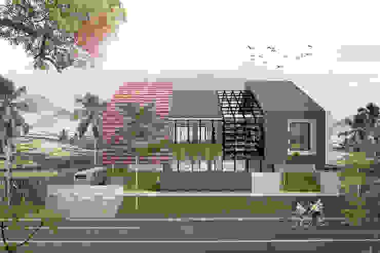 HAMUR AGIT ASAR midun and partners architect Rumah Tropis