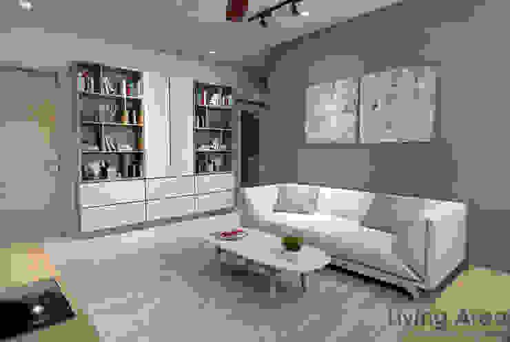 Salas de estilo escandinavo de Swish Design Works Escandinavo