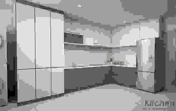 Cocinas de estilo moderno de Swish Design Works Moderno