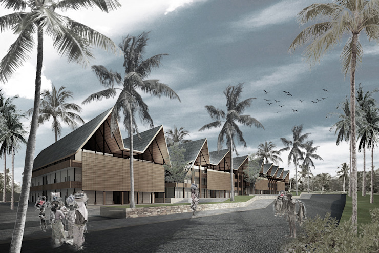 PARAWITA Pusat Perbelanjaan Gaya Asia Oleh midun and partners architect Asia