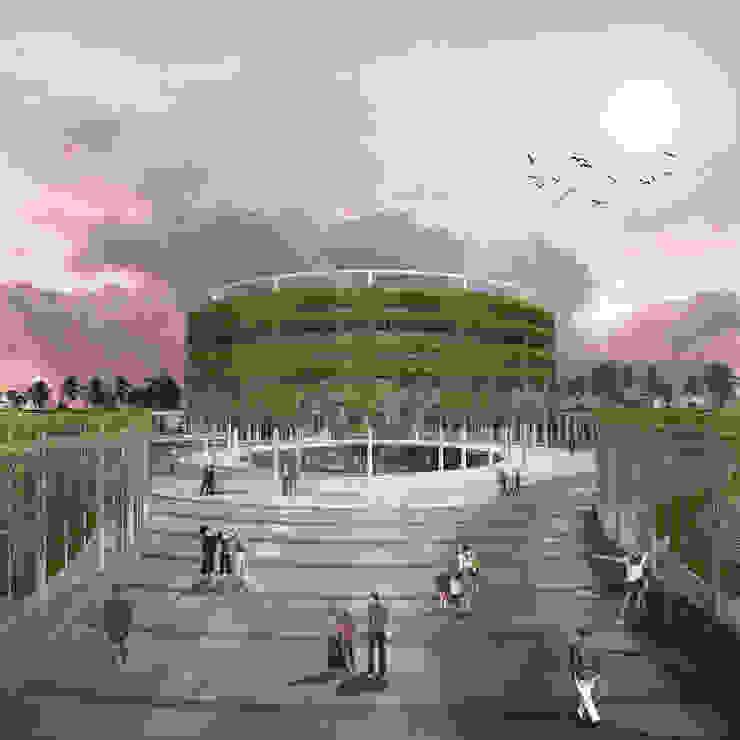 PUSARAN SARAN Event Venue Tropis Oleh midun and partners architect Tropis