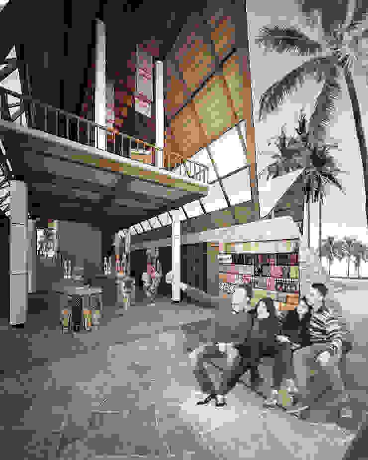 BALEPUCENDRAMA Pusat Perbelanjaan Gaya Asia Oleh midun and partners architect Asia