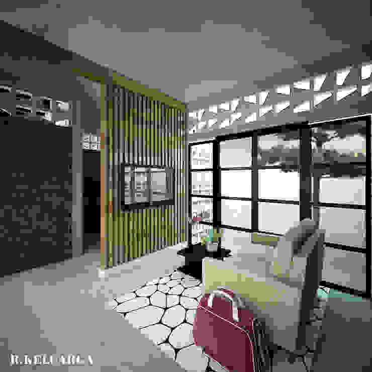 BELAGAK CINDO HOUSE Ruang Keluarga Modern Oleh midun and partners architect Modern