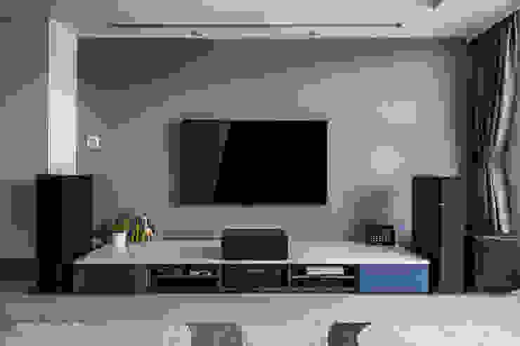 沉穩大氣-將捷家和 富亞室內裝修設計工程有限公司 牆面 水泥 Blue