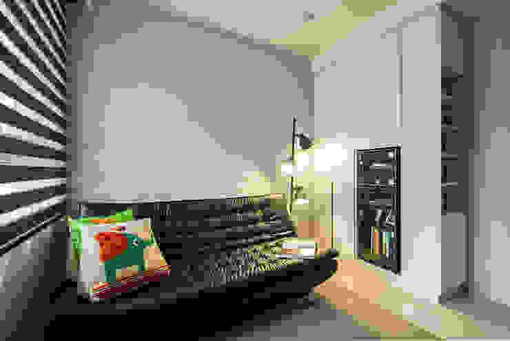 沉穩大氣-將捷家和 富亞室內裝修設計工程有限公司 影音室家具 皮革 Brown