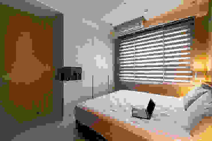 沉穩大氣-將捷家和 富亞室內裝修設計工程有限公司 臥室 MDF Beige