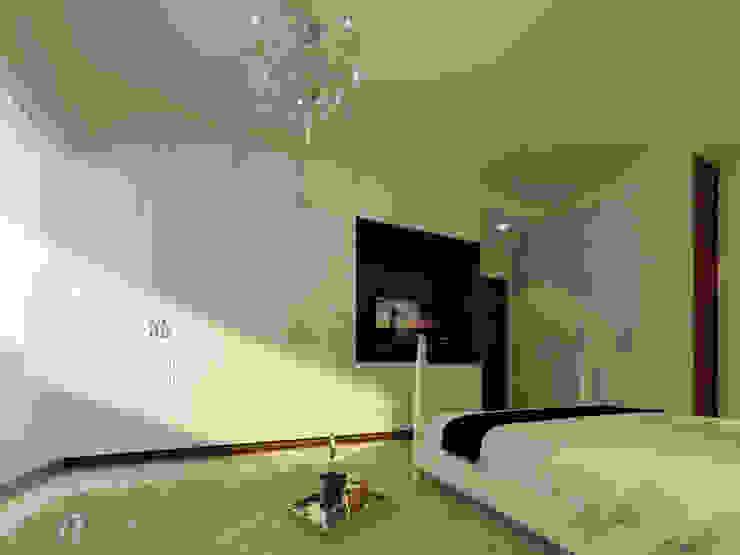臥室櫥櫃+電視牆 元作空間設計 牆面