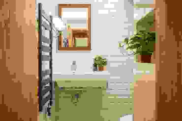輕質工業-成功美宅 根據 富亞室內裝修設計工程有限公司 工業風 磁磚