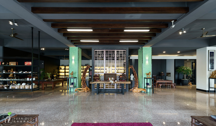 大廳 根據 元作空間設計 日式風、東方風