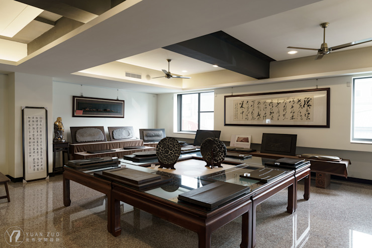 展示空間 根據 元作空間設計 日式風、東方風