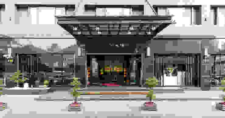大門外觀 根據 元作空間設計 日式風、東方風