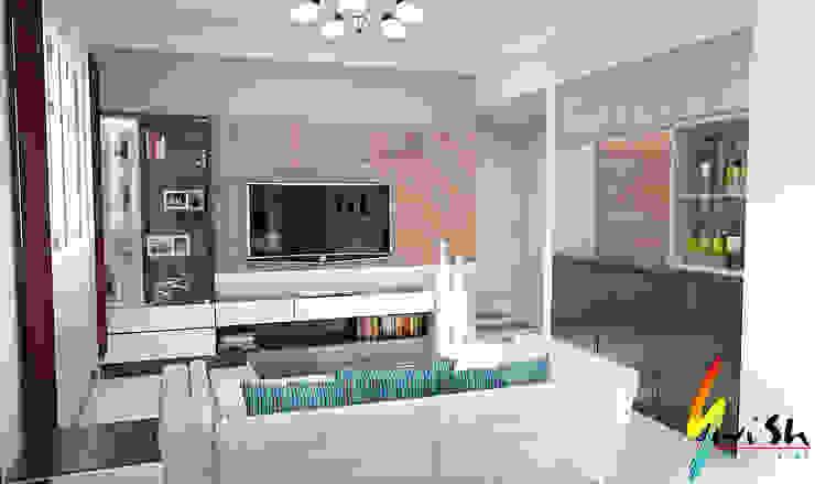 Balam Road Modern living room by Swish Design Works Modern
