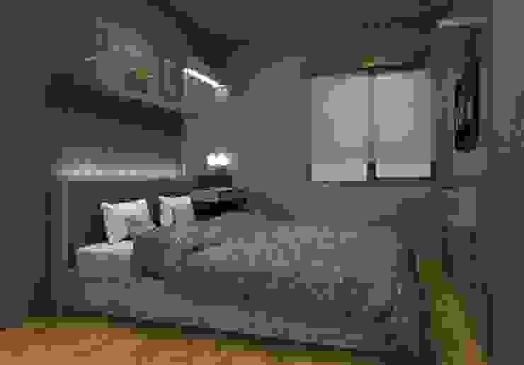 Kamar Tidur Utama: Kamar Tidur oleh Maxx Details,