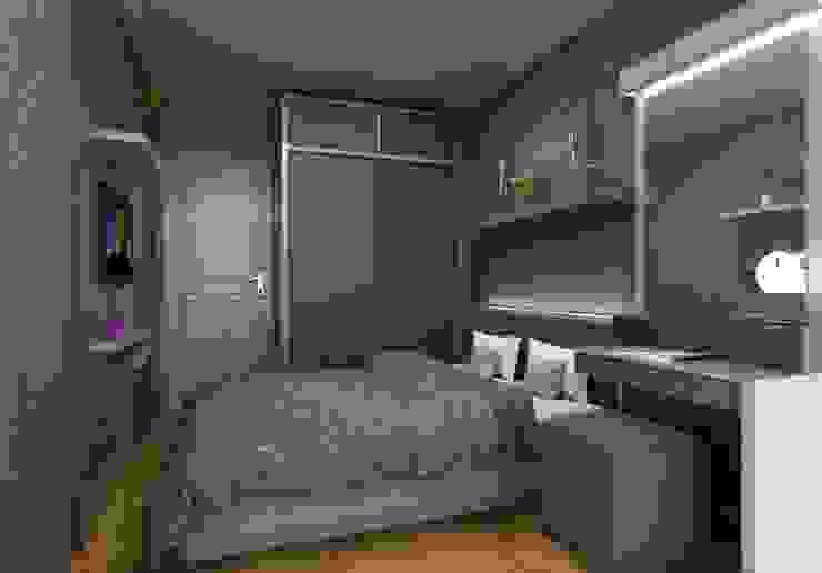 Apartemen Setiabudi Bandung: Kamar Tidur oleh Maxx Details,