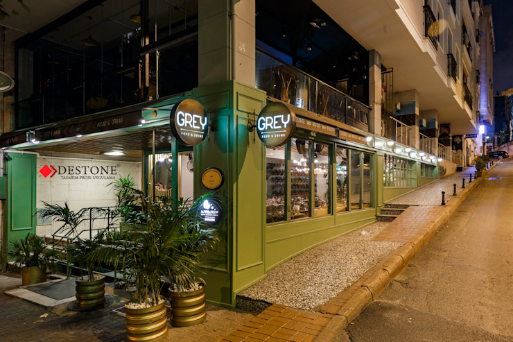 DESTONE YAPI MALZEMELERİ SAN. TİC. LTD. ŞTİ. Scandinavian style bars & clubs