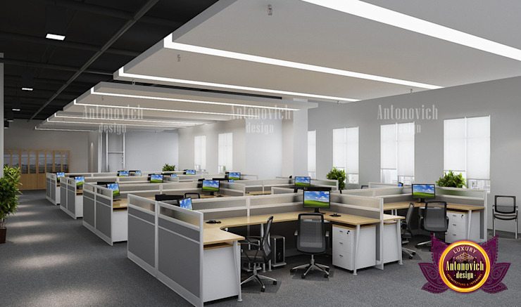 Superb Fit-Out Services for Offices by Luxury Antonovich Design
